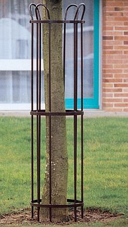 Baumschutzgitter � 450 mm (Abb. zeigt beschichtete Version)
