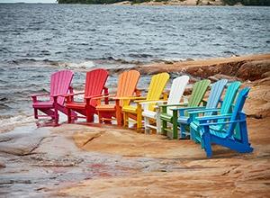 Adirondack Classic Stuhl (Abb. zeigt diverse Farbbeispiele)