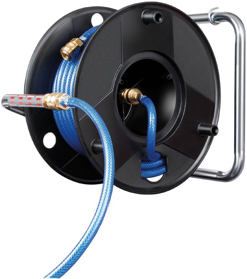 Druckluftschlauchtrommel Anti Twist 20m Schlauch-� 6/12mm Armatur DIN