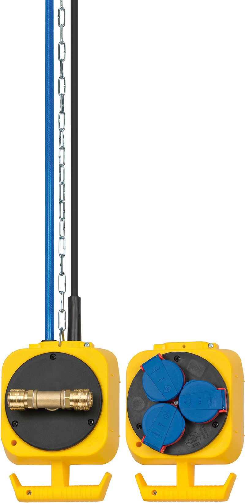 Druckluft Pendel Stromverteiler IP44