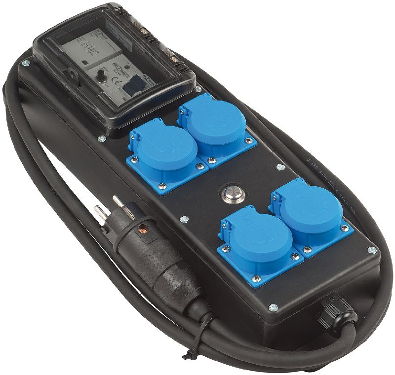 Personen-Schutzverteiler PRCD-S IP54 4-fach, 2m H07RN-F 3G2,5