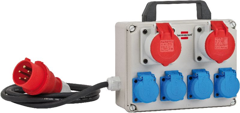 Kompakter Kleinstromverteiler BKV 2/4 T IP44