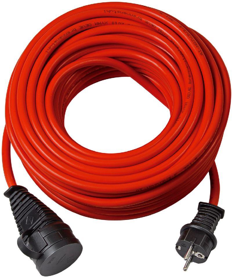 Bremaxx Verl�ngerungskabel IP44 25m rot AT N05V3V3-F 3G1,5
