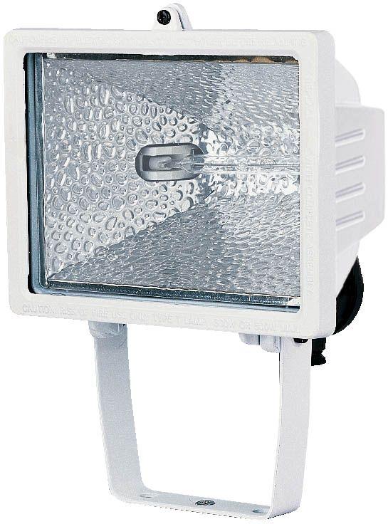 Halogenstrahler H 500 IP54 400W 8545lm weiß Energieeffizienzklasse C