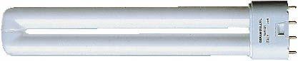 Kompaktleuchtstofflampe 18W 1200lm 67lm/W 4000K 2G11 Energieeffizienzklasse A