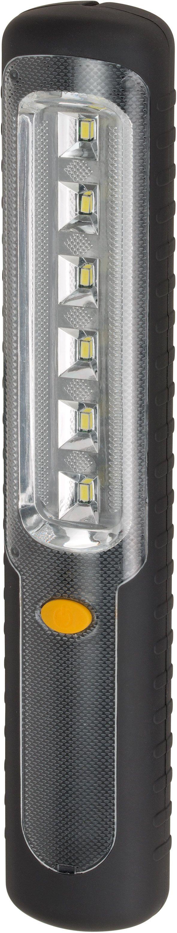 6 LED Akku-Handleuchte HL DA 6 DM2H mit Dynamo, Haken und Magnet