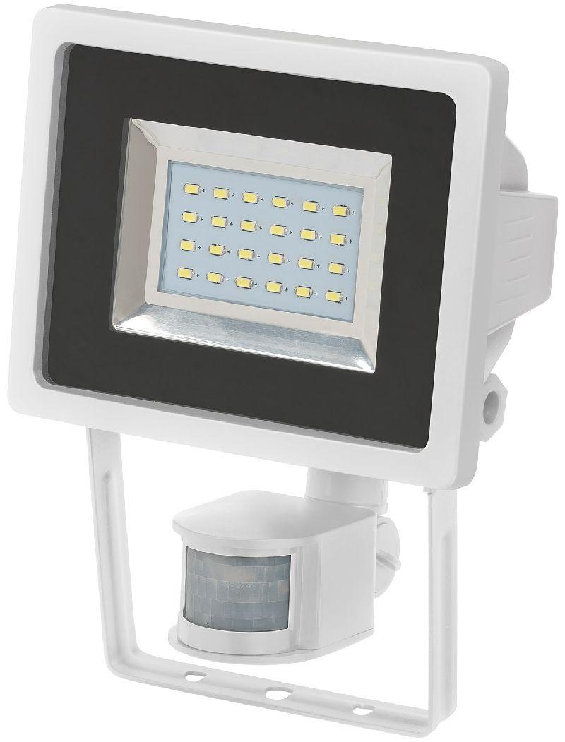 SMD-LED-Leuchte L DN 2405 PIR IP44 mit Infrarot-Bewegungsmelder 24x0,5W 950lm weiß Energieeffizienzklasse A