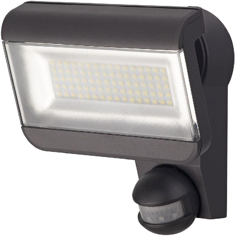 Sensor LED-Strahler Premium City SH 8005 PIR IP44 mit Infrarot-Bewegungsmelder 80x0,5W 3700lm anthrazit Energieeffizienzklasse A+