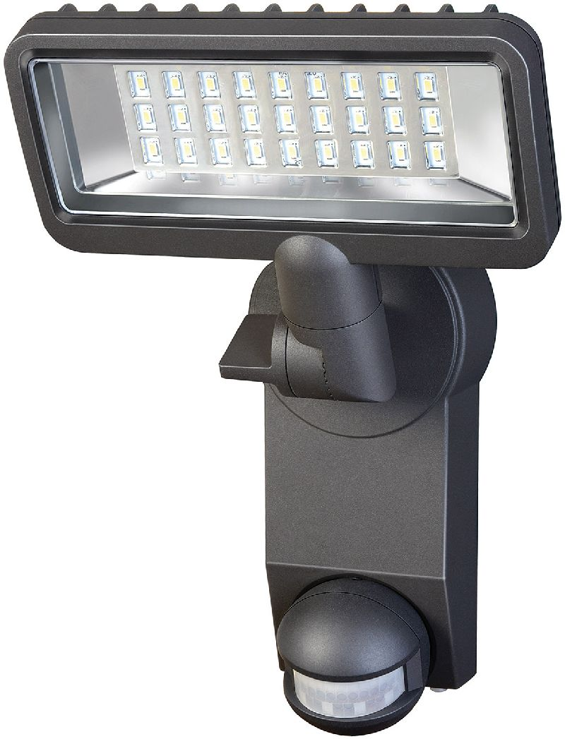Sensor LED-Strahler Premium City SH2705 PIR IP44 mit Infrarot-Bewegungsmelder 27x0,5W 1080lm Energieeffizienzklasse A