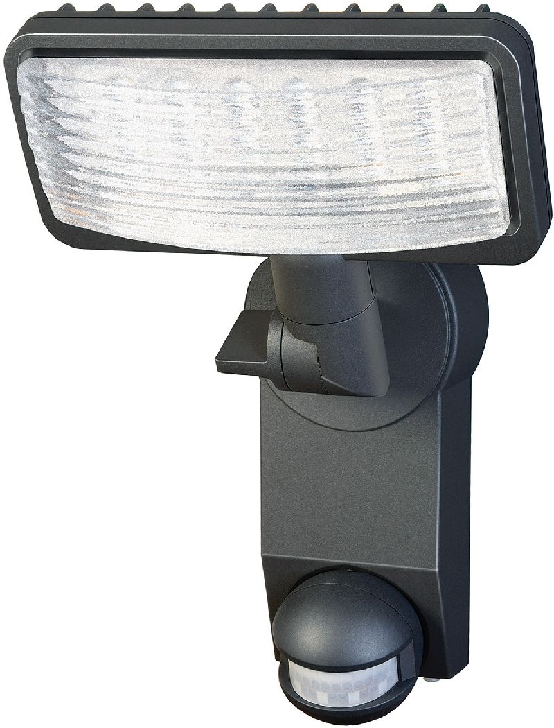 Sensor LED-Flächenleuchte Premium City LH2705 PIR IP 44 mit Infrarot-Bewegungsmelder 27x0,5W 1080lm Energieeffizienzklasse A