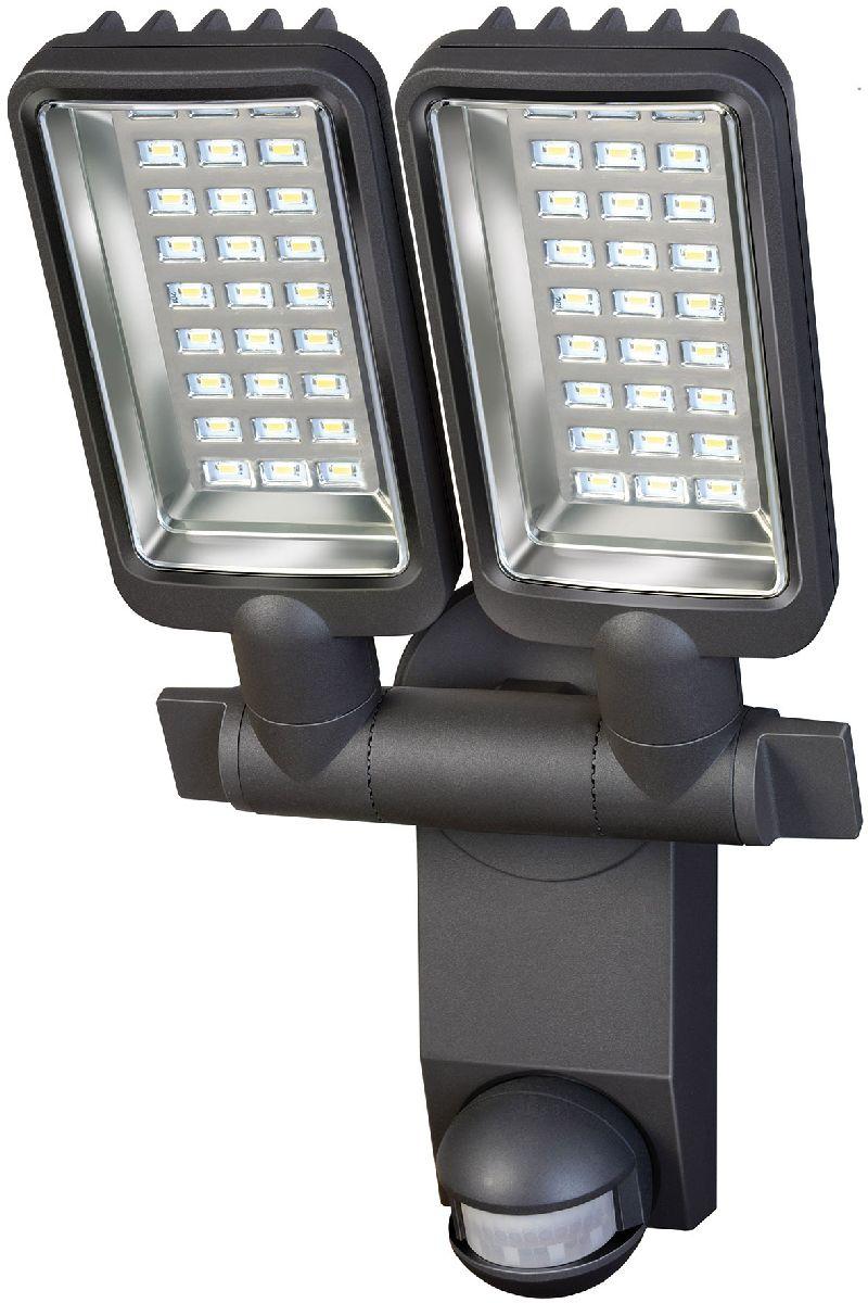Sensor LED-Strahler Duo Premium City SV5405 PIR IP44 mit Infrarot-Bewegungsmelder 54x0,5W 2160lm Energieeffizienzklasse A