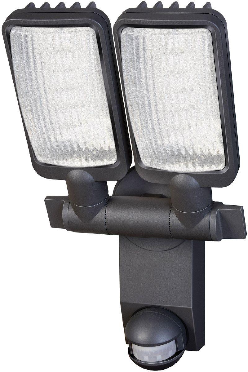 Sensor LED-Flächenleuchte Duo Premium City LV5405 PIR IP44 mit Infrarot-Bewegungsmelder 54X0,5W 2160lm Energieeffizienzklasse A