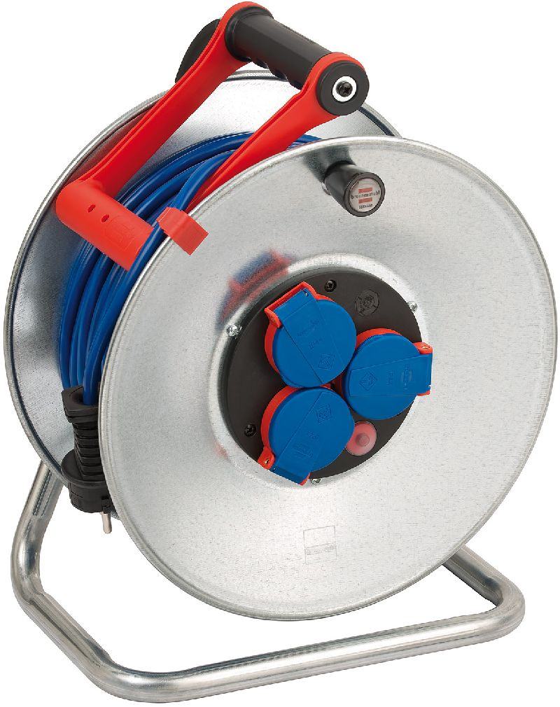 Garant S IP44 Kabeltrommel 50m AT-N05V3V3-F 3G1,5 blau