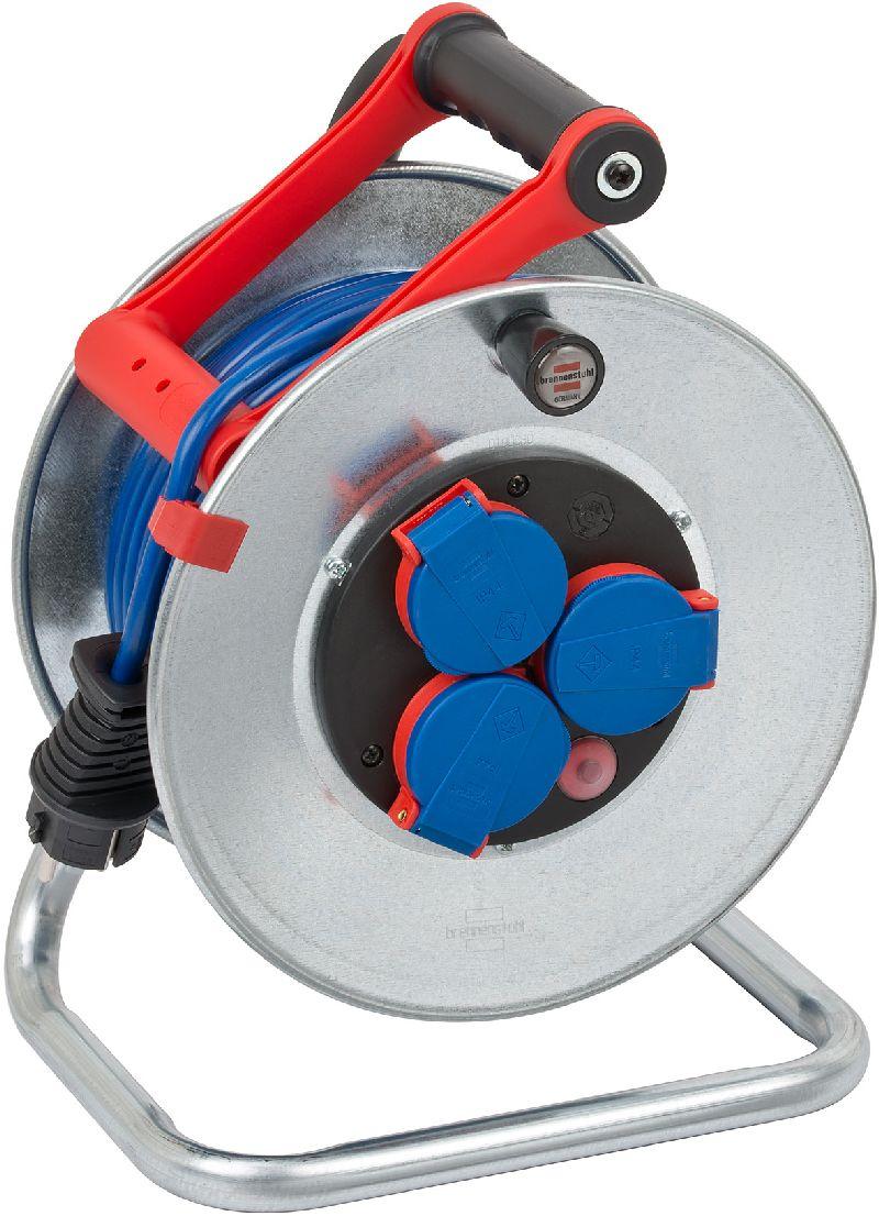 Garant S IP44 Kabeltrommel 25m AT-N05V3V3-F 3G1,5 blau