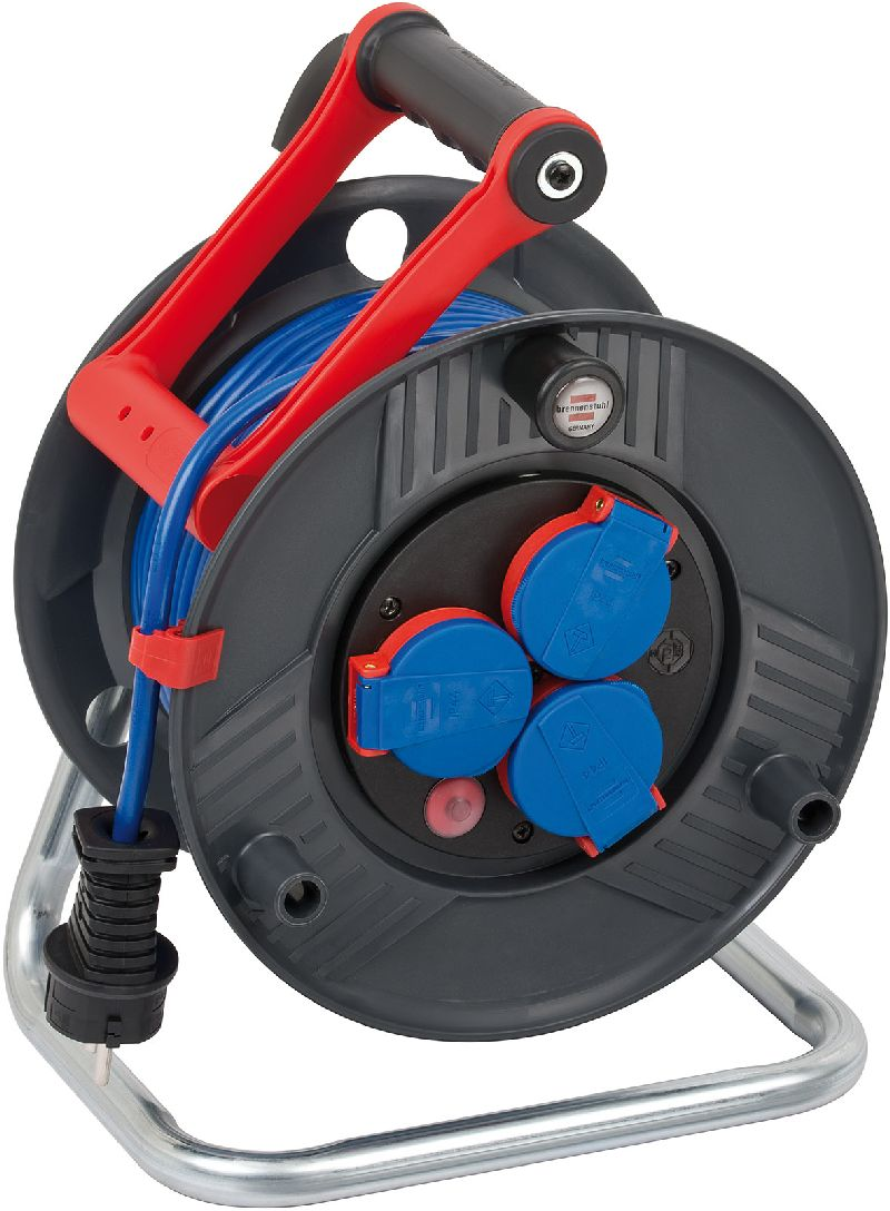 Garant IP44 Kabeltrommel 25m AT-N05V3V3-F 3G1,5 blau
