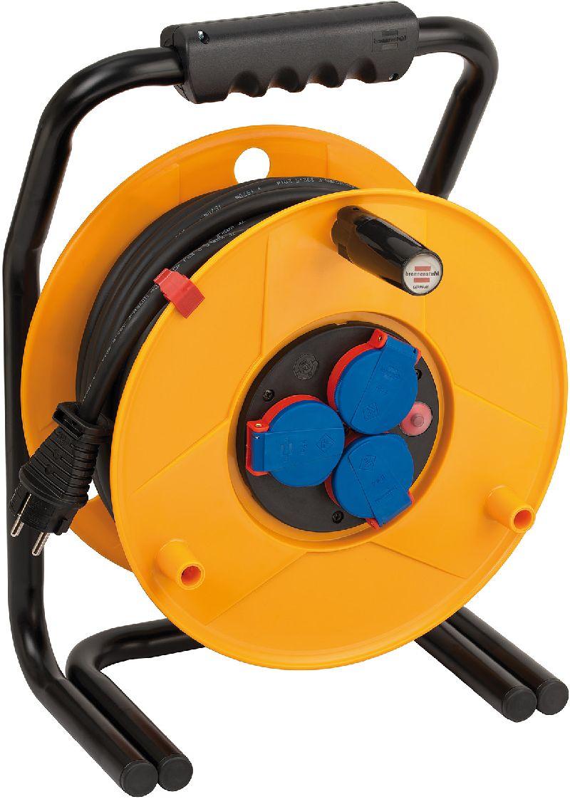 Brobusta IP44 Gewerbe-/Baustellen-Kabeltrommel 25m H07RN-F 3G2,5