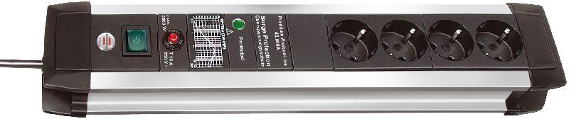 Premium-Protect-Line 60.000A Überspannungsschutz-Steckdosenleiste 4-fach 3m H05VV-F 3G1,5