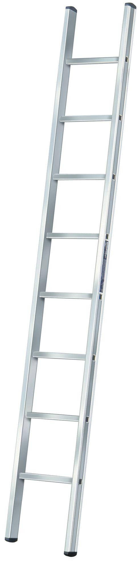 Anlegeleiter Aluminium 8 Sprossen, L
