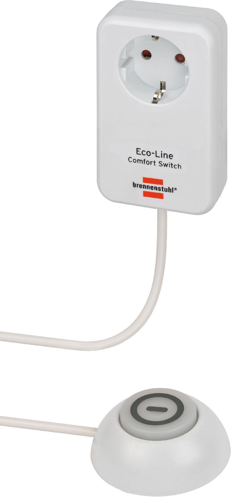 Eco Line Comfort Switch Adapter EL CSA 1 beleuchteter Hand-/Fu�schalter