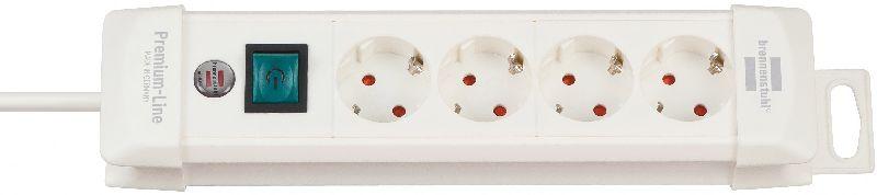 Premium-Line Steckdosenleiste 4-fach wei� 1,8m H05VV-F 3G1,5