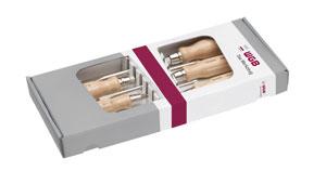 SCHRAUBENDREHER GARNITUR ISO 2380 DIN/ISO 8764 MIT HOLZHEFT 522  [WGB-Werkzeug]
