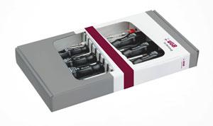 SCHRAUBENDREHER GARNITUR ISO 2380 DIN/ISO 8764 533 SICHTVER  [WGB-Werkzeug]