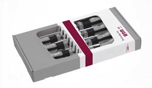 SCHRAUBENDREHER GARNITUR 2K HEFT ISO 2380 DIN/ISO 8764 586  [WGB-Werkzeug]